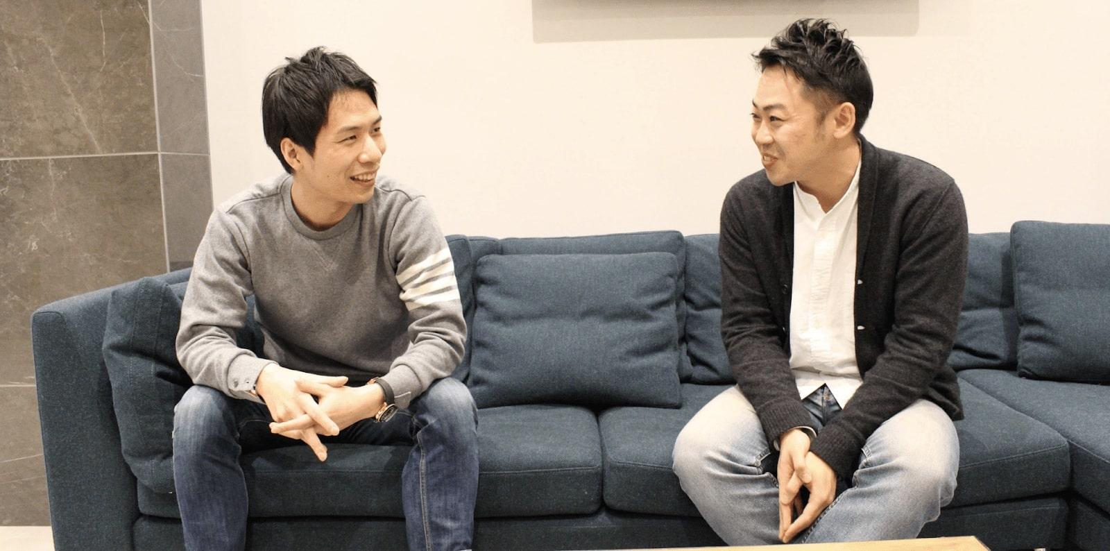 AnyMind Group and GROVE, CEO Sogo and CEO Kitajima meeting