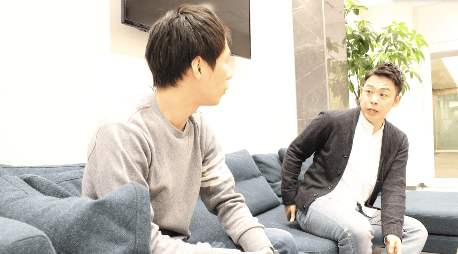 AnyMind Group and GROVE, CEO Sogo and CEO Kitajima chat