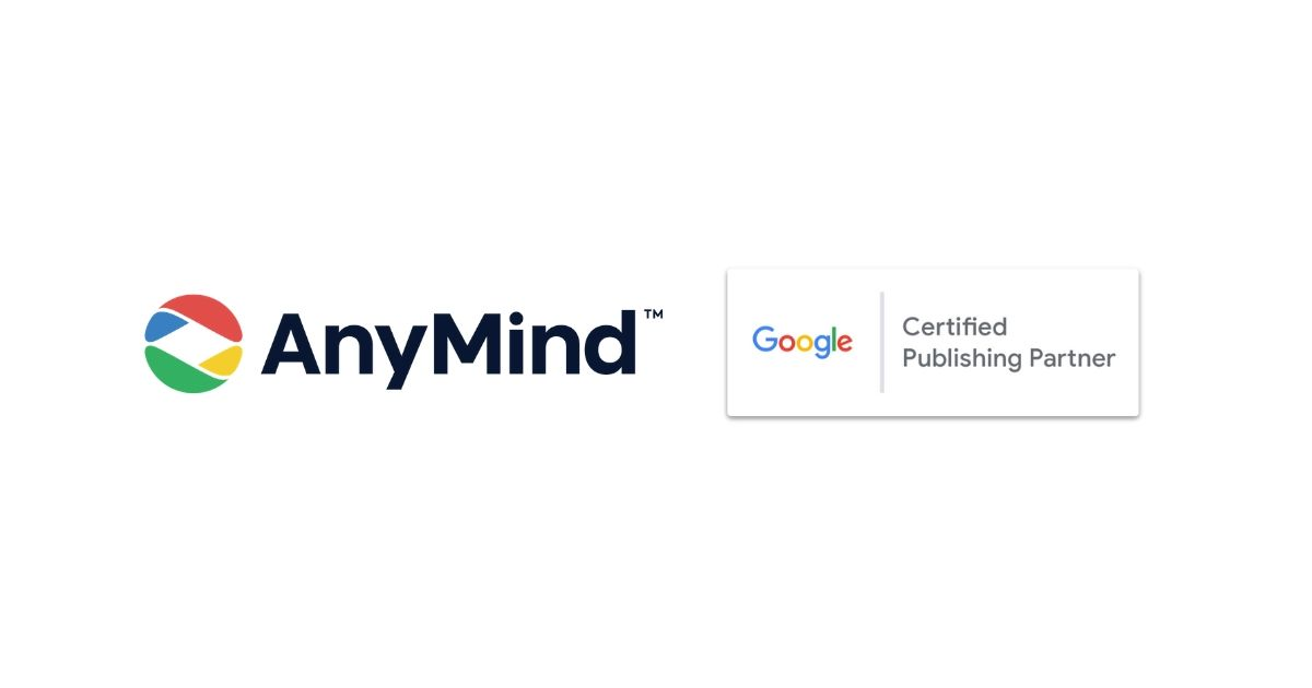 AnyMind Google Certified Publishing Partner