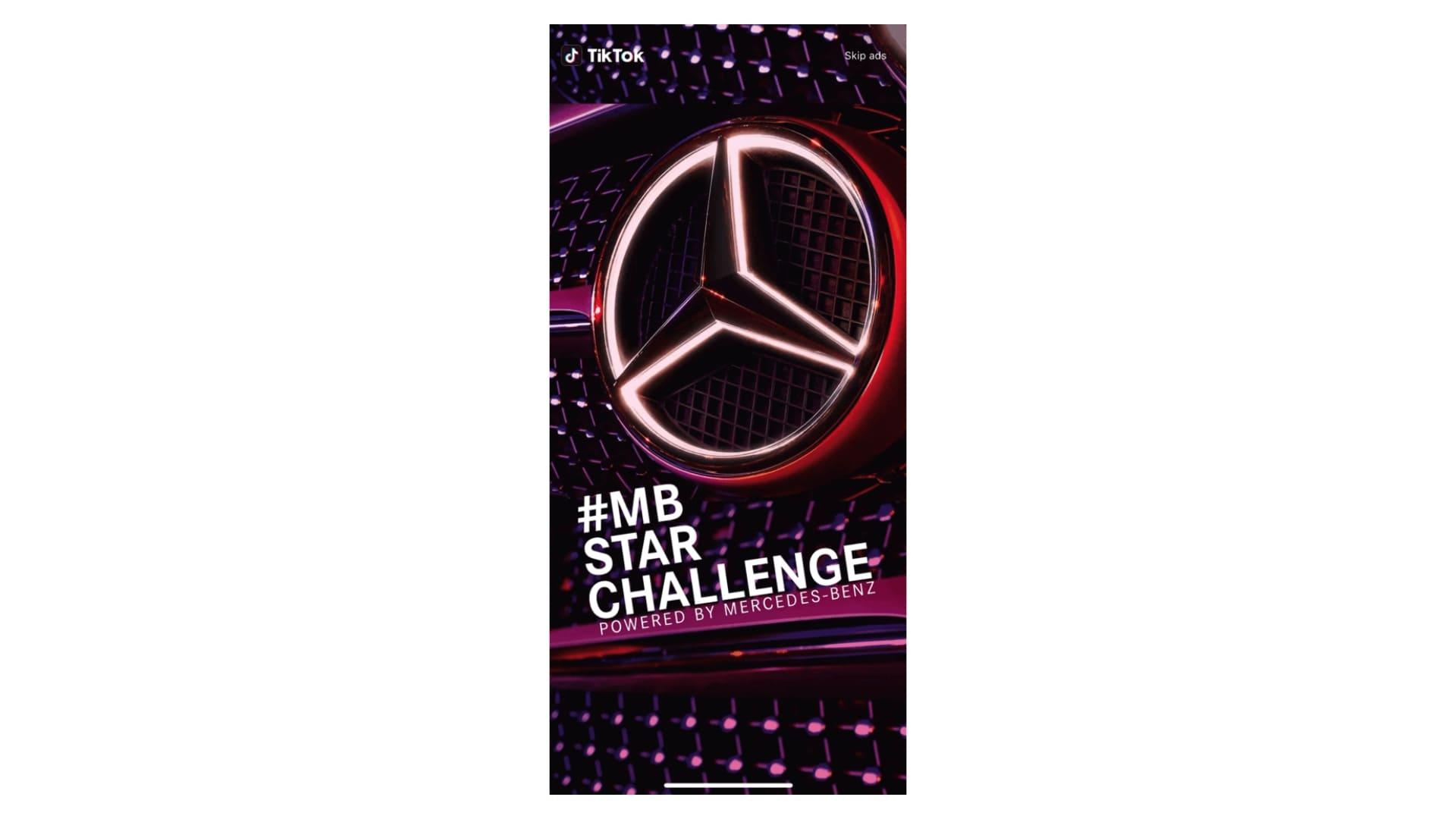 TikTok case study for Mercedes Benz