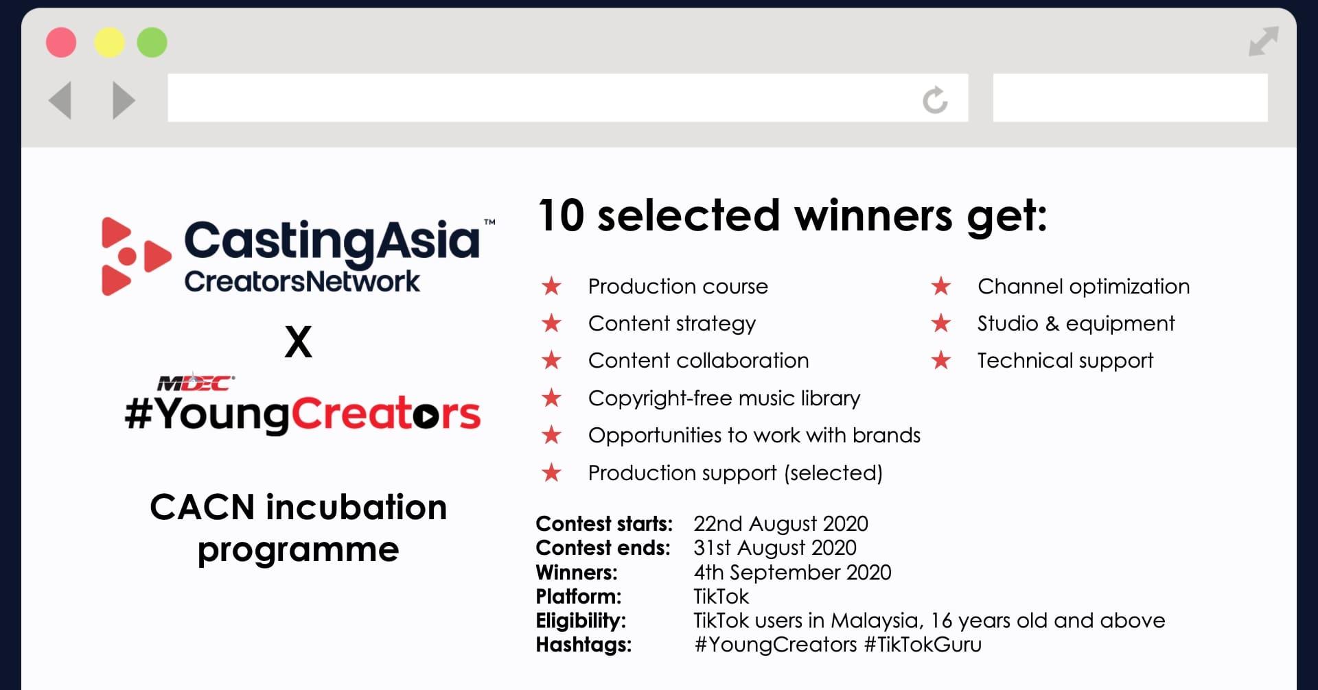 CastingAsia hashtag analytics feature