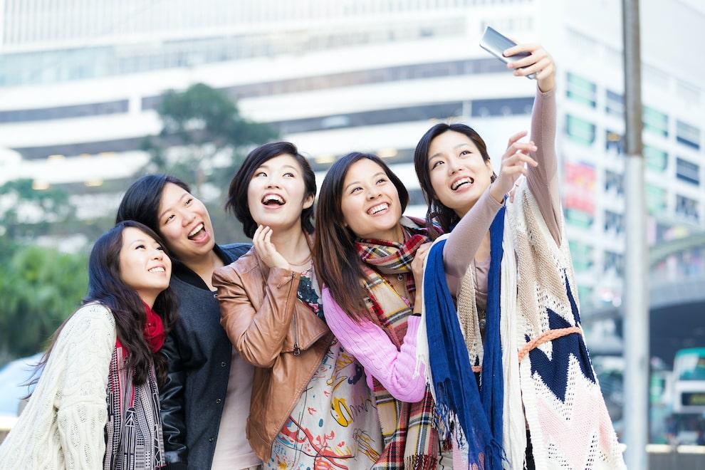 Social influencers in Hong Kong