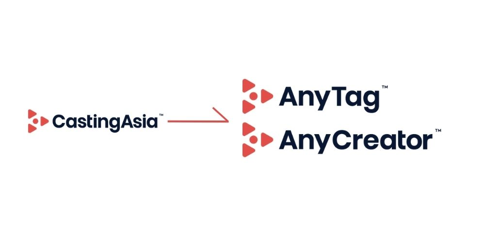 CastingAsia rebranded to AnyTag and AnyCreator