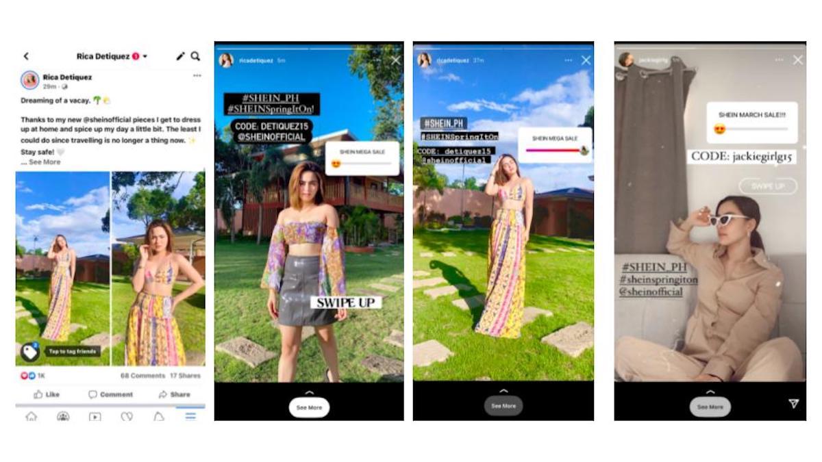 SHEIN influencer marketing case study